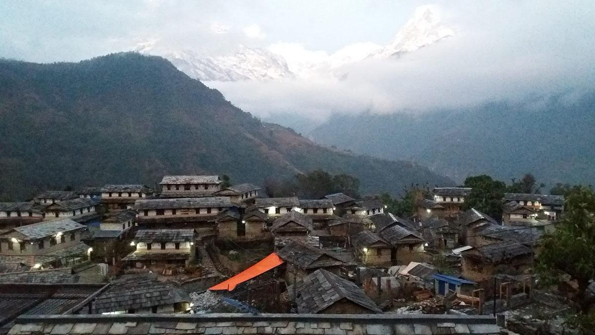 Ghandruk trek: File photo