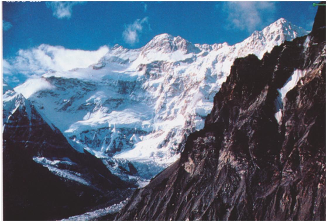 Yalung Kang mountain
