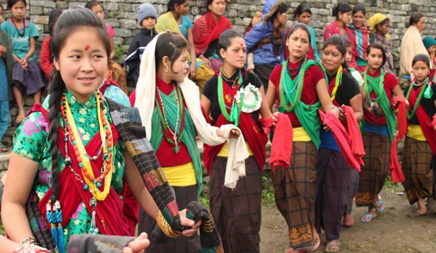 Kham cultural dance-Bhume dance