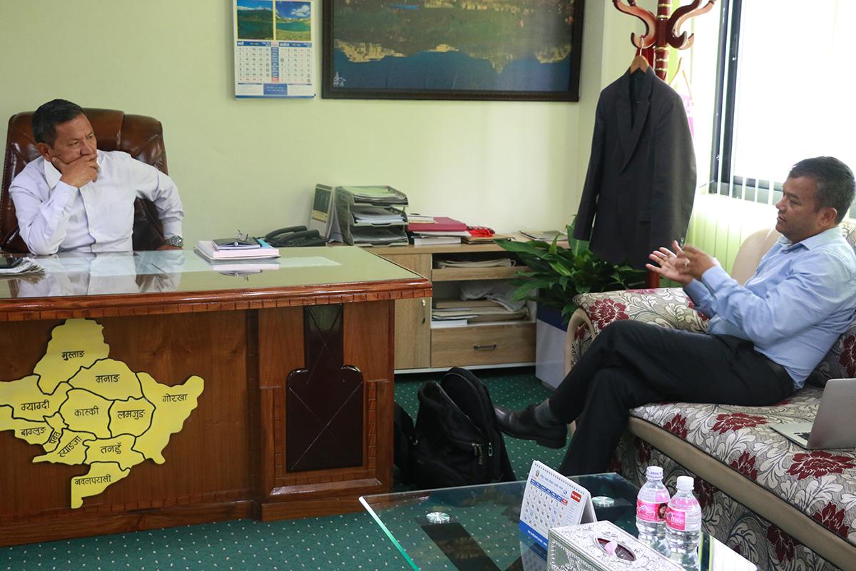 A conversation with CM Prithvi Subba Gurung