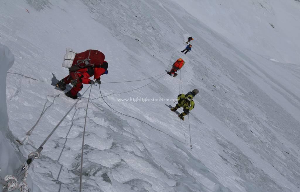 Sagarmatha climbers