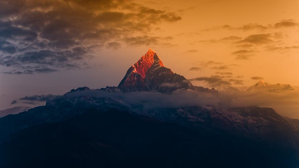 Sunrise view from Sarankot