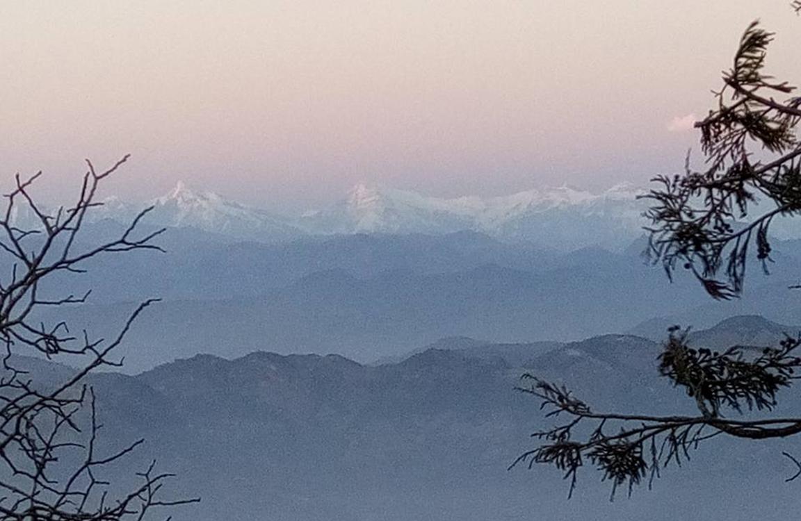 View from swargadwari