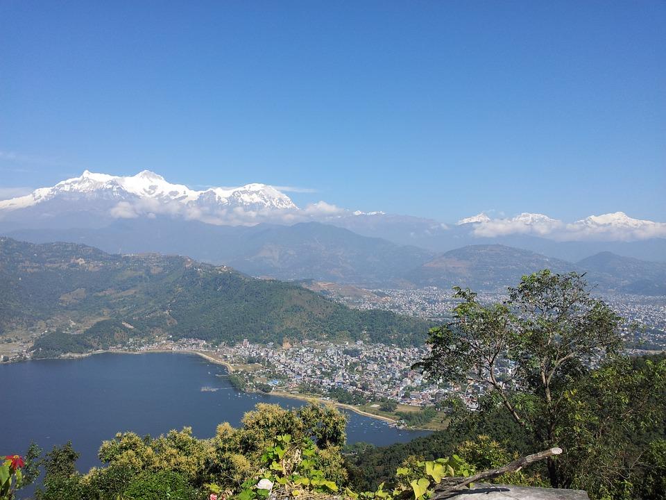 Sarankot view of Pokhara