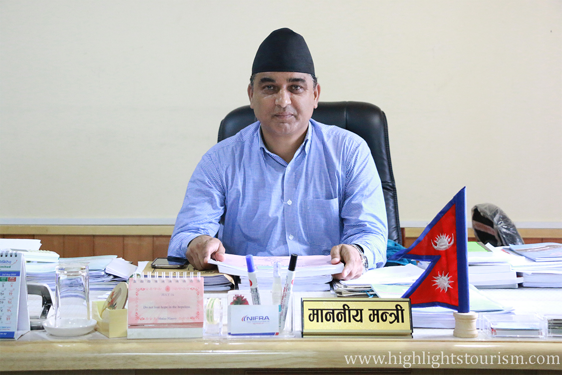 Bikash Lamsal - Gandaki State Tourism Minister