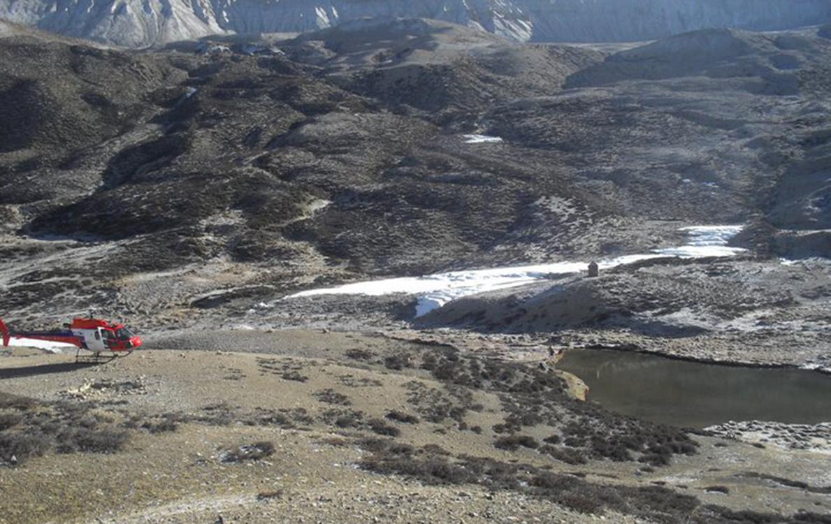 Damodar kunda: Photo- Amrit Kaji Gurung