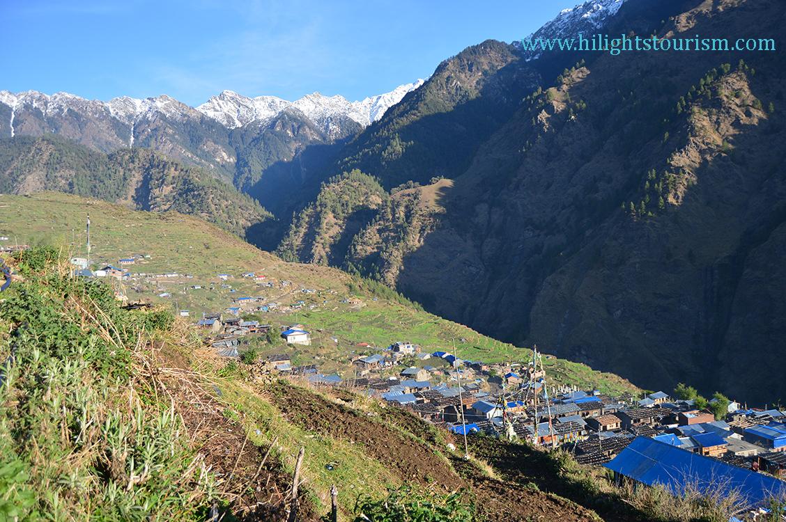 Tamang heritage trail: Gatlang