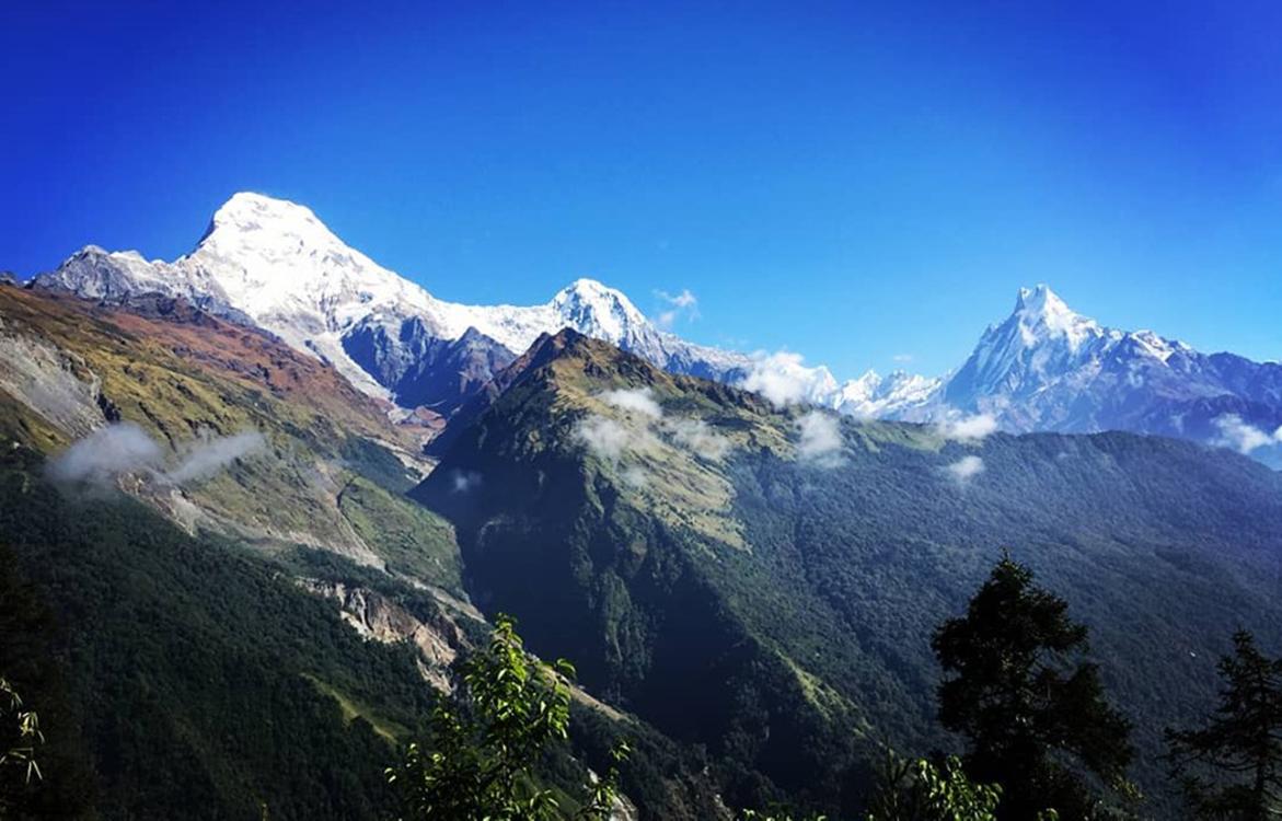 Views seen from Khopra ridge