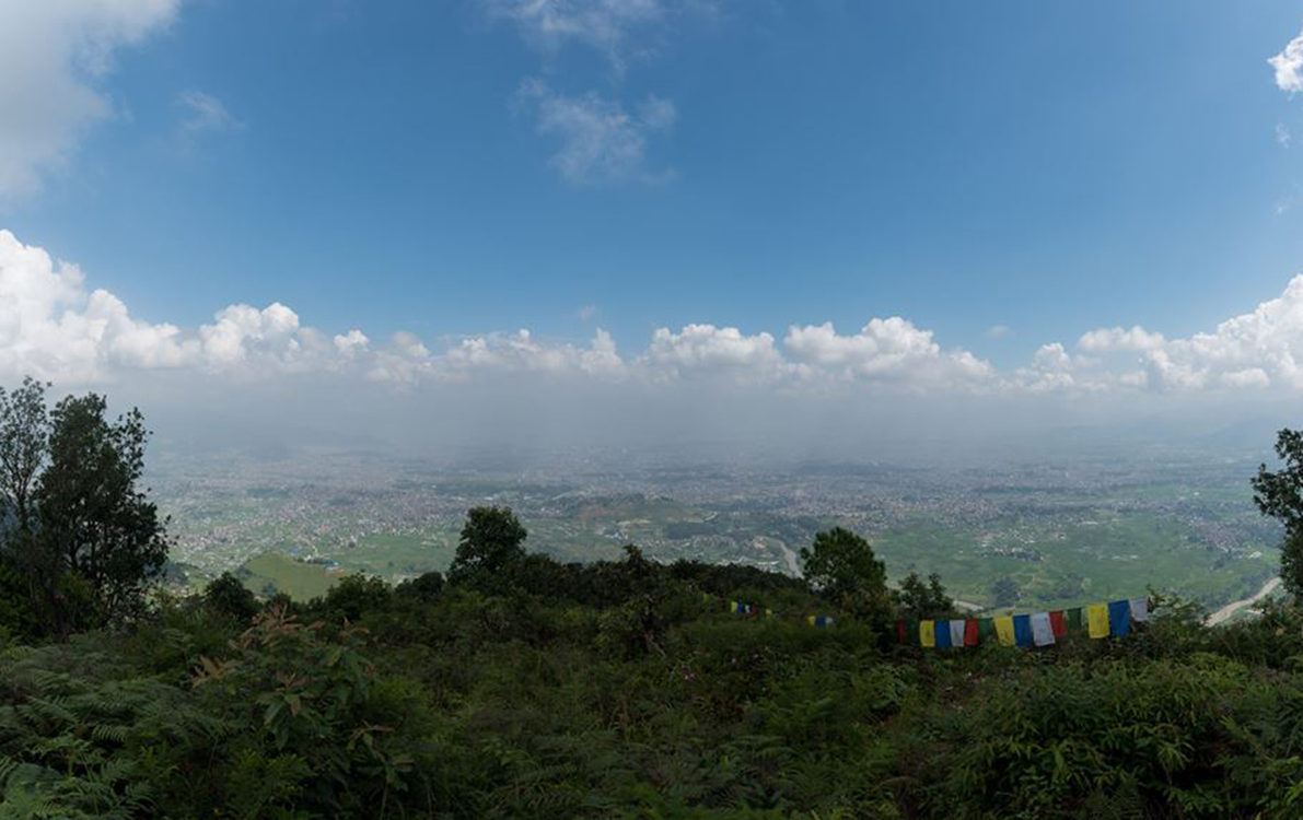 Views seen from Champadevi hiking route