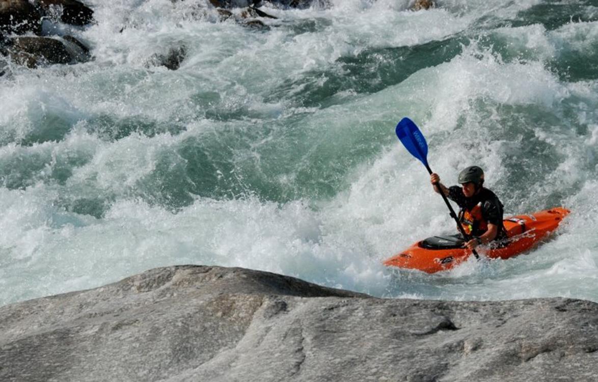 Kayaking in Nepal