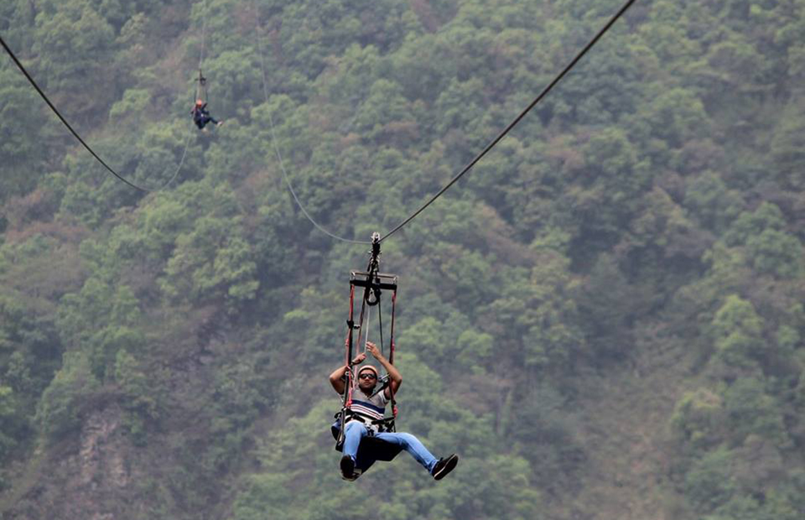 Pokhara Zipline - Photo: Mir Sakir