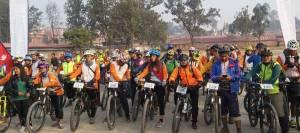 cycle ride through Sindhuli