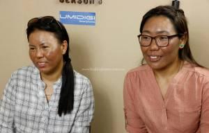 Nima Doma Sherpa and Furdiki Sherpa